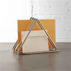 modern office desk accessories. gilded file holder modern office desk accessories