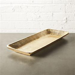 gilded platter