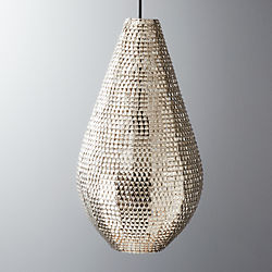 giza teardrop pendant light
