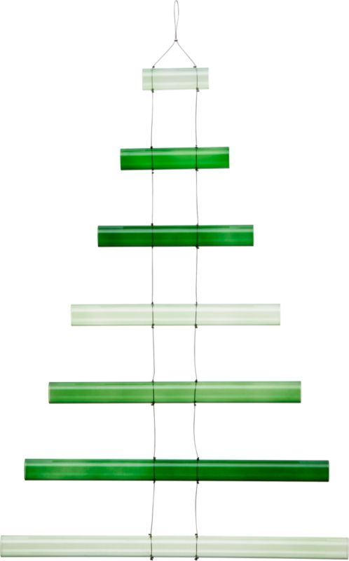 glass rod tree