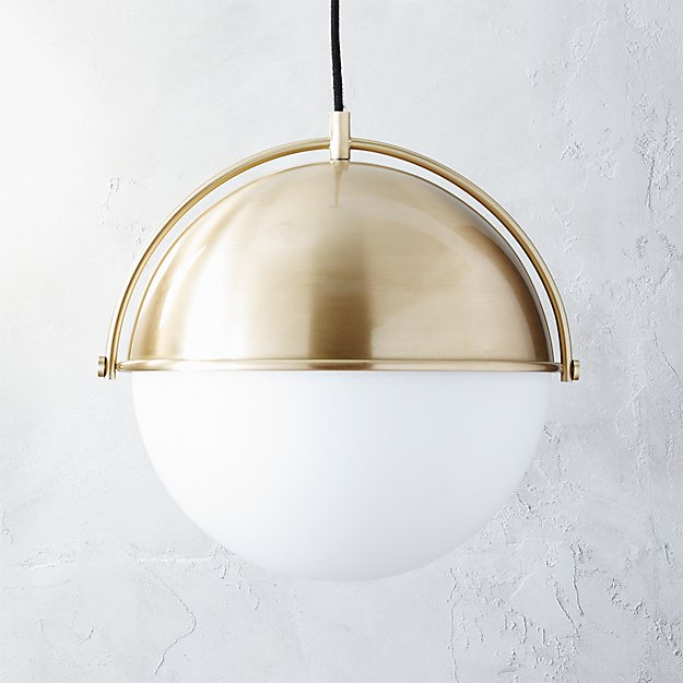 globe pendant light - Globe Pendant Light CB2