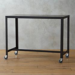 Go Cart Carbon Rolling Desk Reviews Cb2