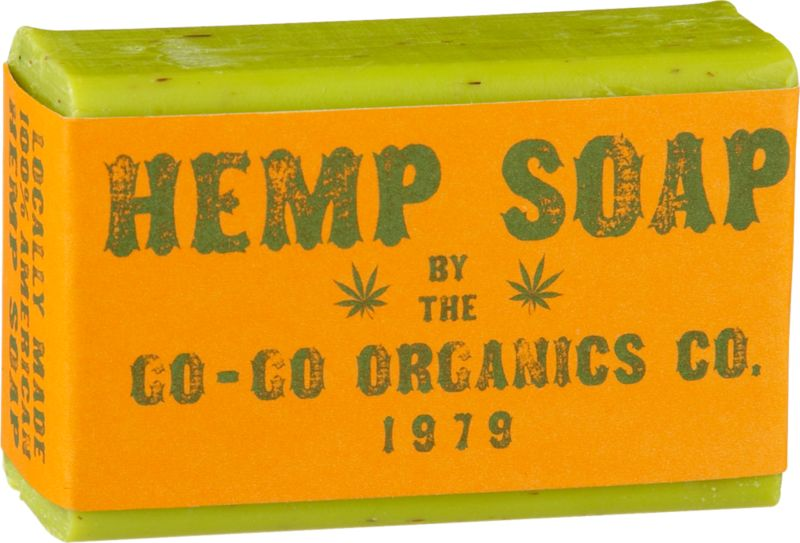 go-go organic hemp oil soap