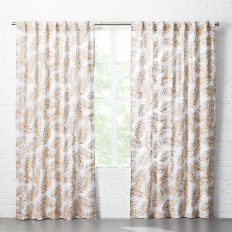 Modern Curtains | CB2