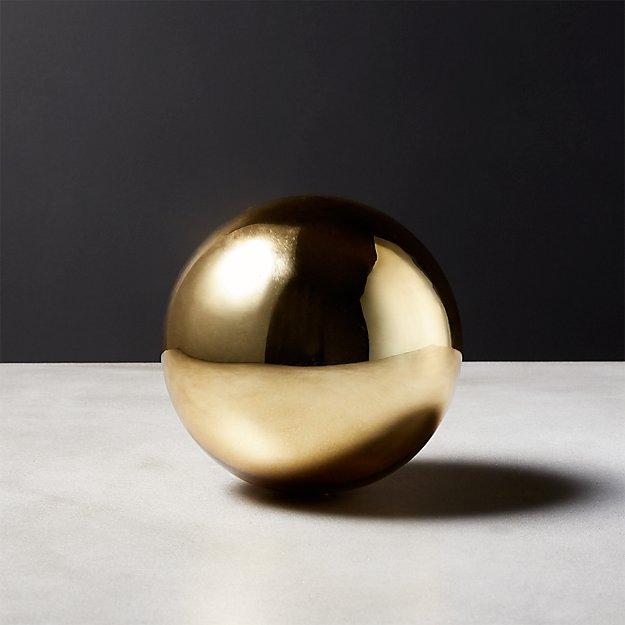 Bubble Sphere Gold Small
