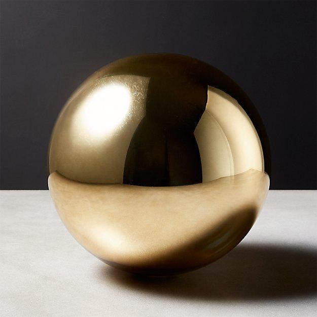 Bubble Sphere Gold Large