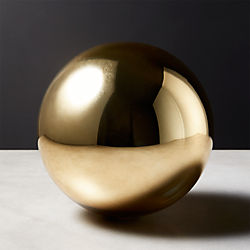 Bubble Sphere Gold Large