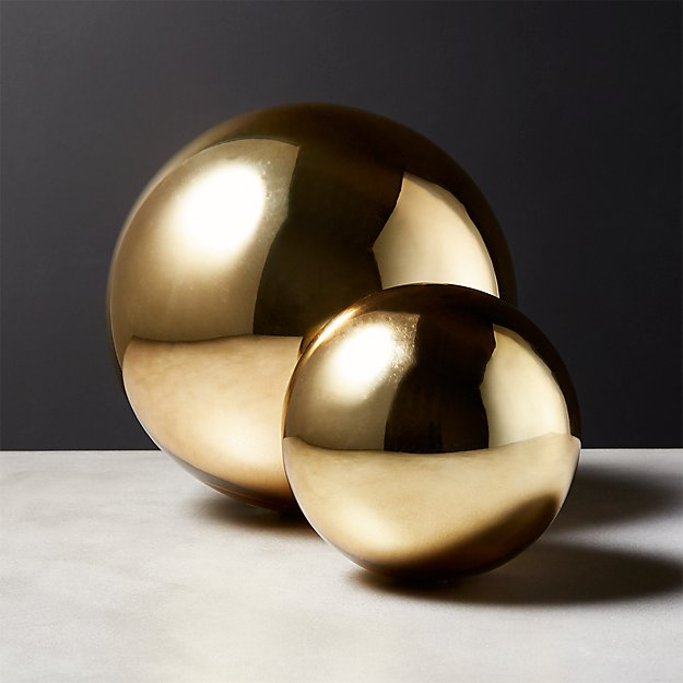 Bubble Spheres Gold