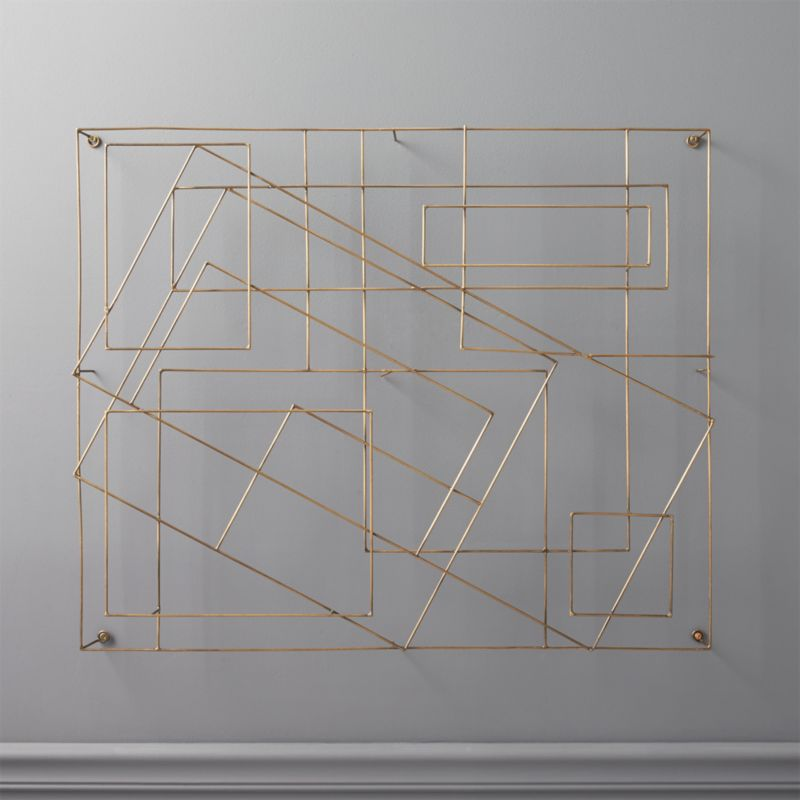 Graham Wire Wall Art Reviews Cb2