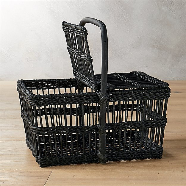 grant black picnic basket