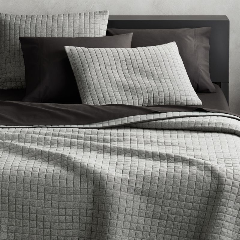 Grey Jersey Bed Sheets
