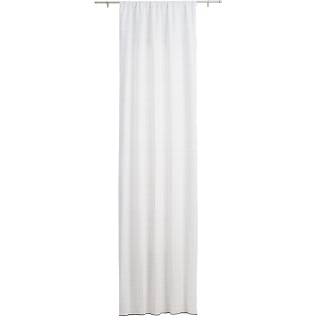 "gridlock curtain panel 48""x120"""