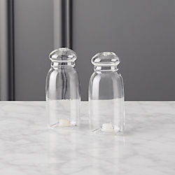 2-piece grill glass salt and pepper set