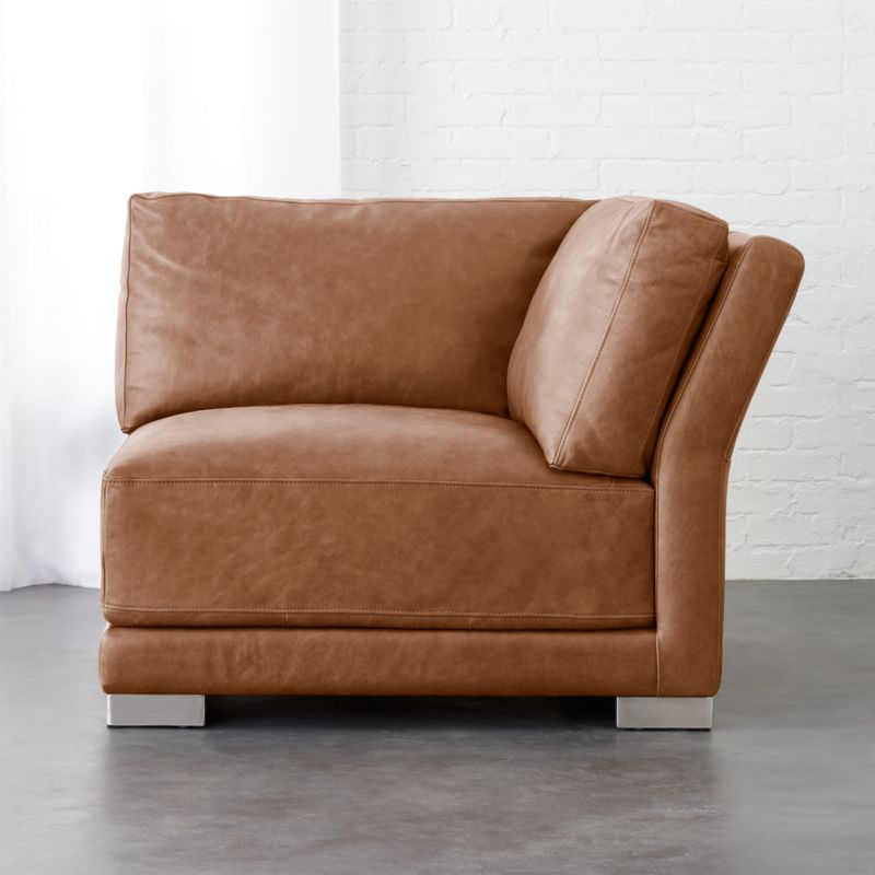 Leather Sectional Sofas Cb2