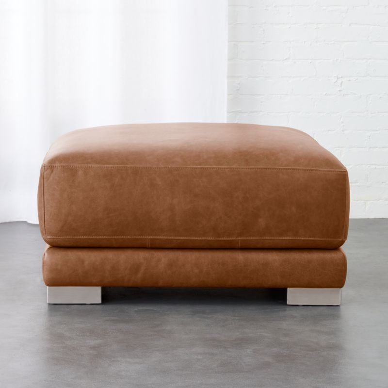 Modern Leather Furniture | CB2