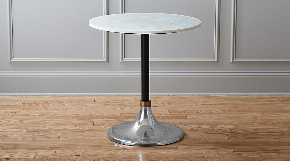 Hackney Marble Cocktail Table In Dining Tables Reviews Cb2