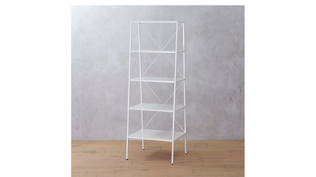 hancock white bookcase