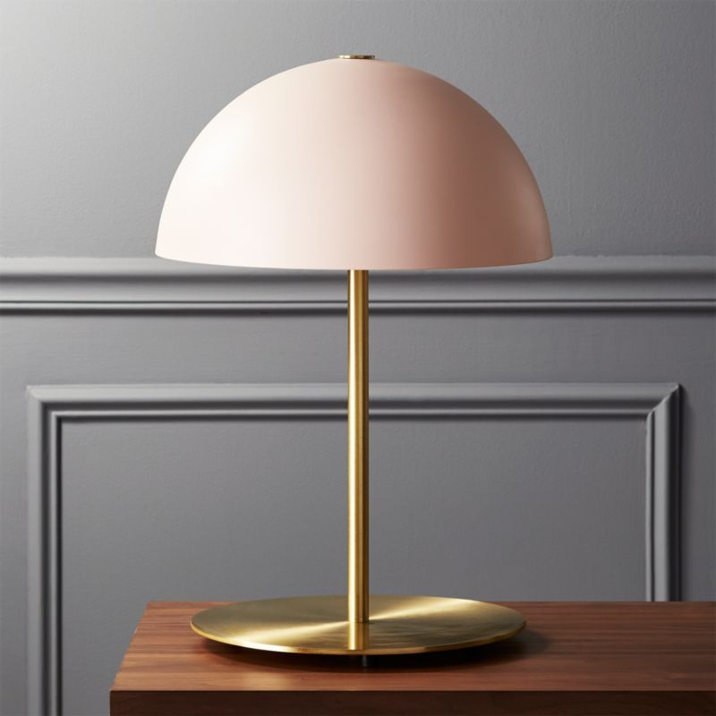 Hanna Pink Table Lamp Reviews Cb2