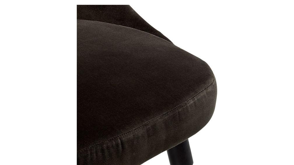 Harlow Mink Velvet Chair