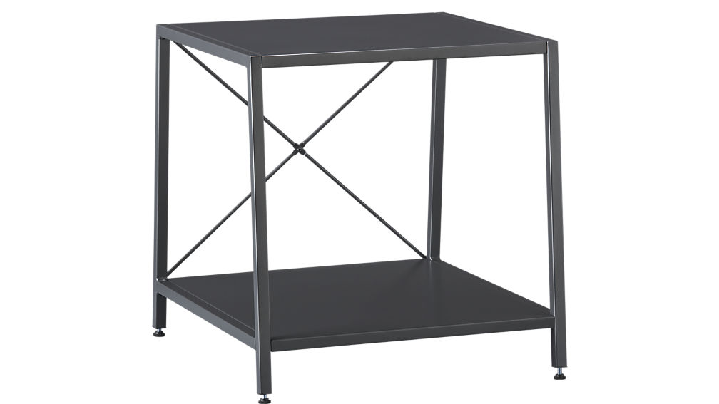 ... Harvey Carbon Grey Nightstand ...
