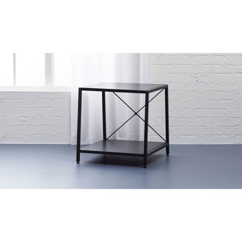 harvey carbon nightstand
