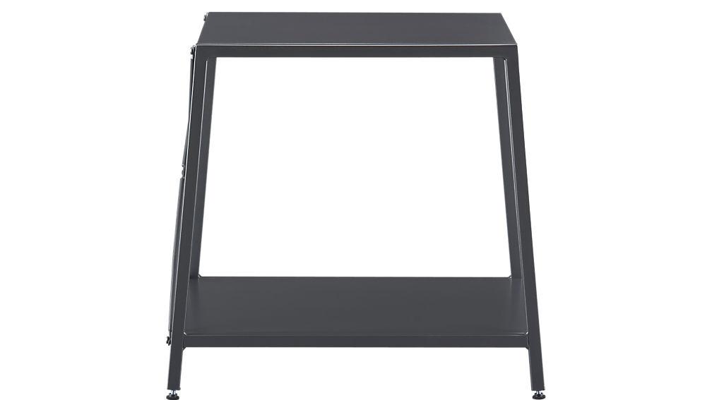 harvey carbon grey nightstand