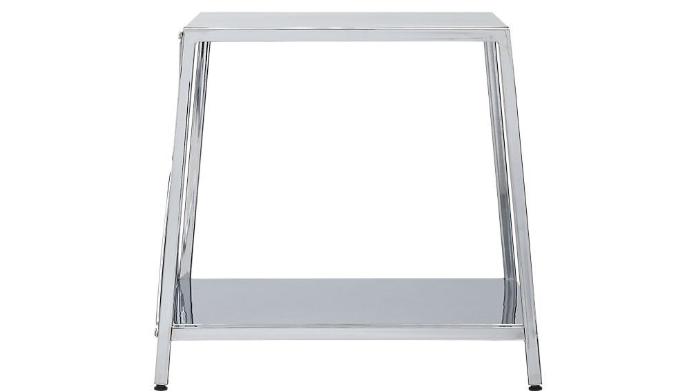 harvey chrome nightstand