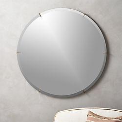 Captivating Hawk Round Wall Mirror 36 Idea