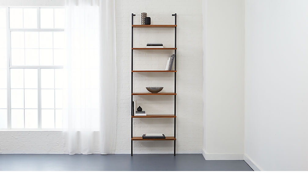 helix large wall mounted bookcase reviews cb2. Black Bedroom Furniture Sets. Home Design Ideas