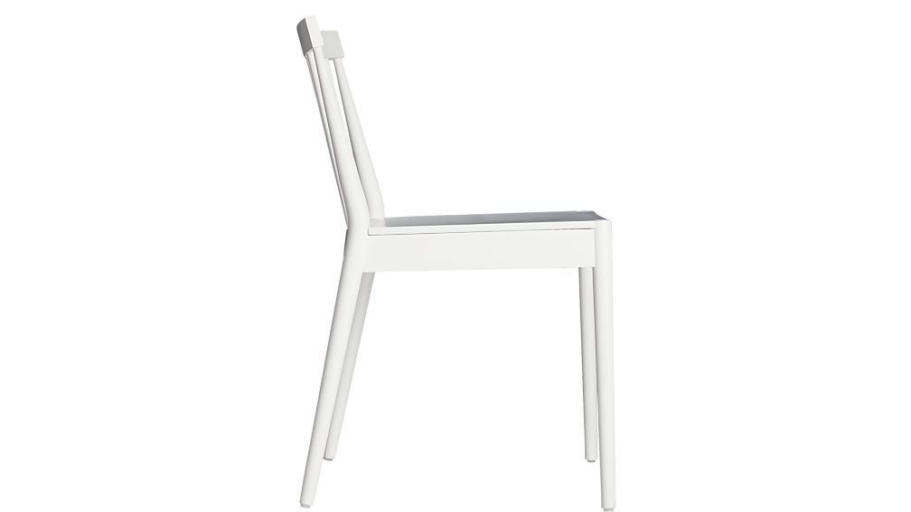 hemstad white chair