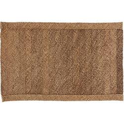 hida braided border abaca rug 5'x8'