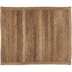 hida braided border abaca rug 8'x10'