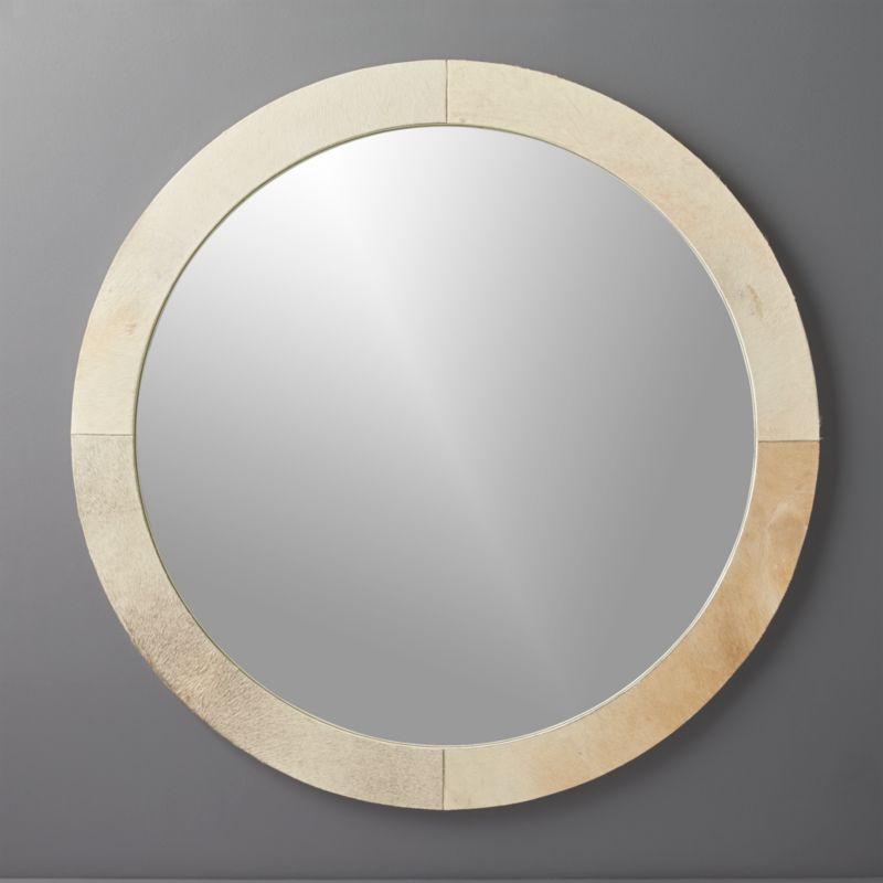 Amazing Round Hide Mirror 36 Amazing Pictures