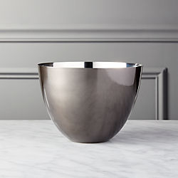 Hightower Small Black Nickel Bowl