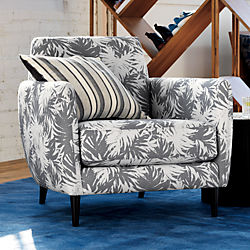 The Hill-Side palm leaves parlour chair