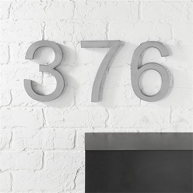 house numbers CB2
