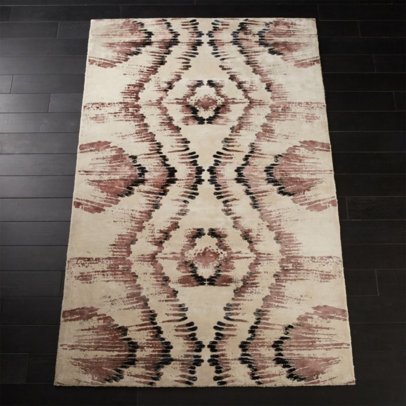 Hue Pink And Copper Rug