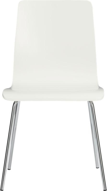 ideal white chair