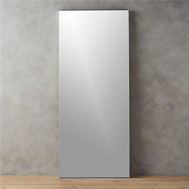 Chrome Floor Mirror - Home Ideas
