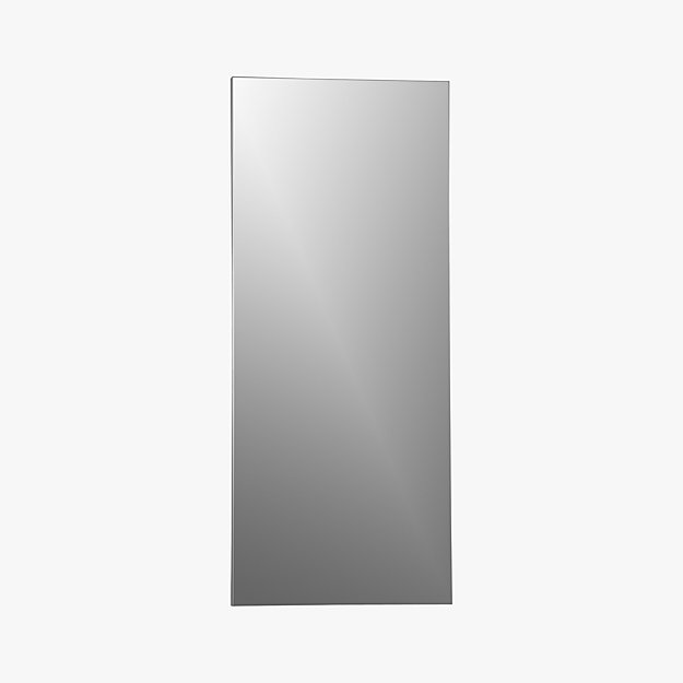 Infinity 32 Quot X76 Quot Floor Mirror Reviews Cb2