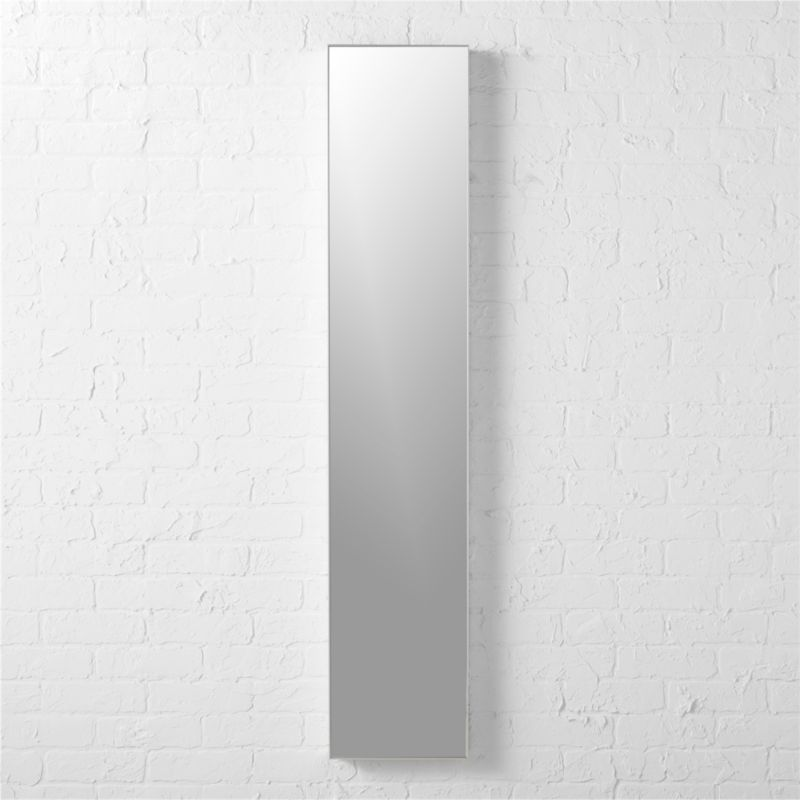 "infinity 10.5""x54"" narrow wall mirror"