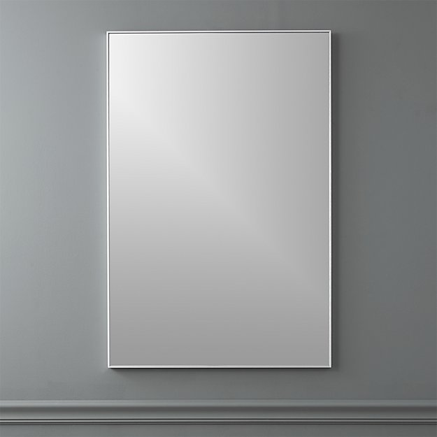 "infinity 24""x36"" rectangular wall mirror"