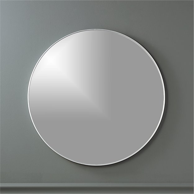 "infinity 24"" round wall mirror"