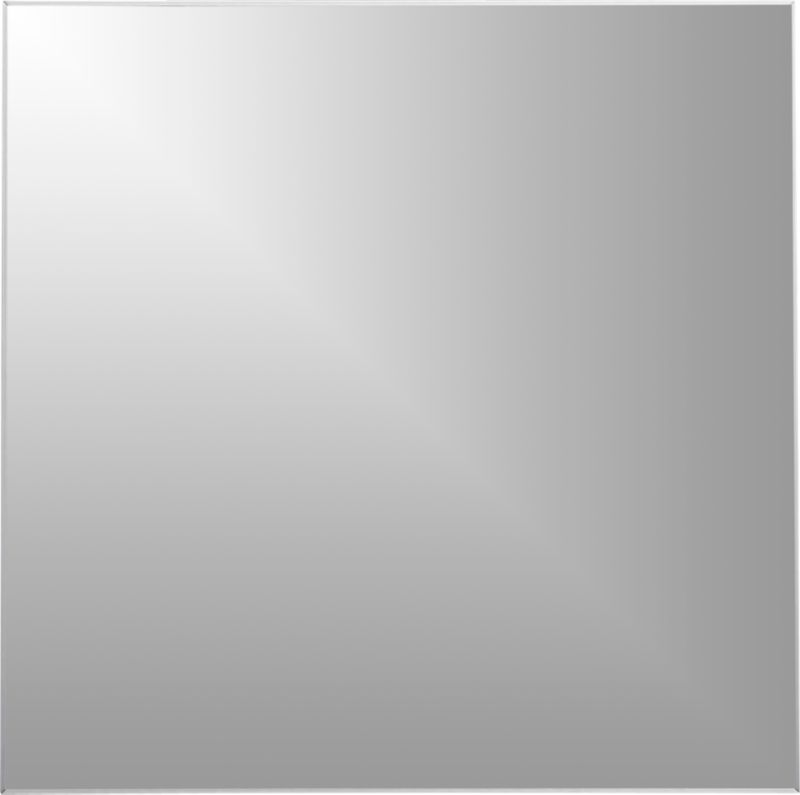 "infinity 31"" square wall mirror"