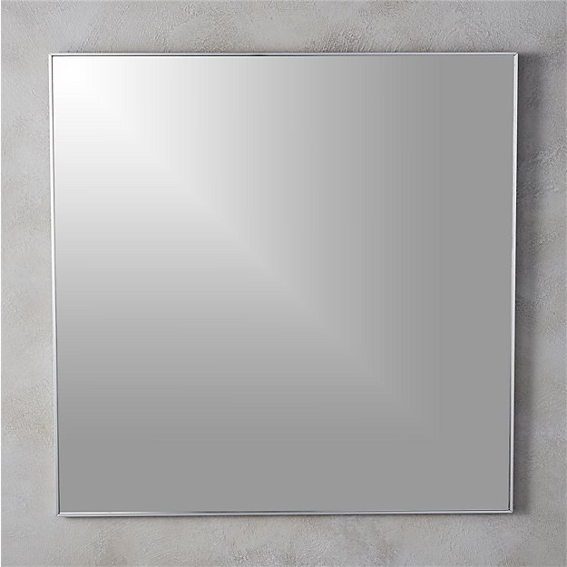 Infinity 31 Quot Square Wall Mirror Reviews Cb2