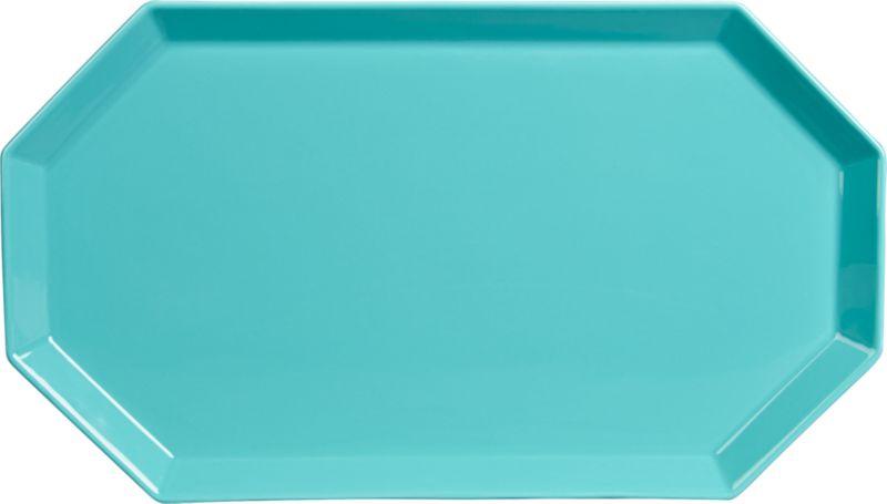 intermix aqua platter