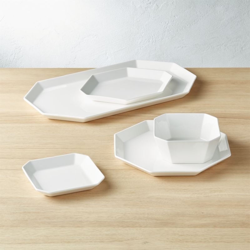 intermix white dinnerware - Modern Dinnerware