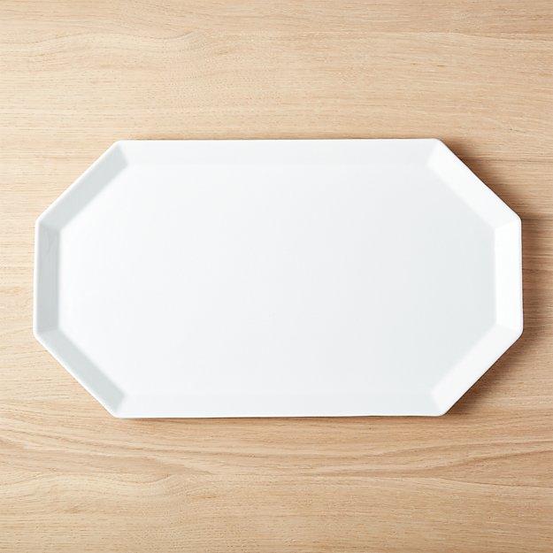 Intermix White Platter