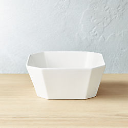 Intermix White Bowl