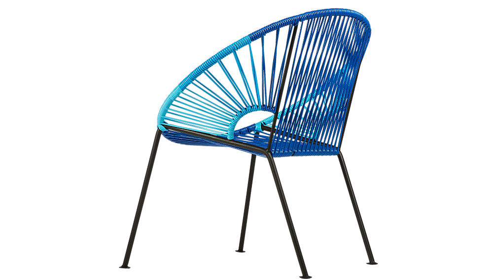 ixtapa blue lounge chair